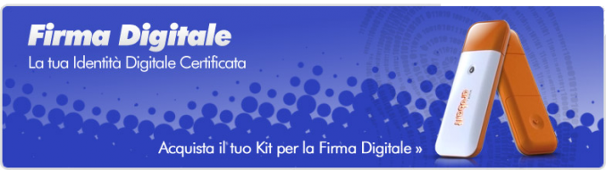 Firma Digitale - Multi Web home & services